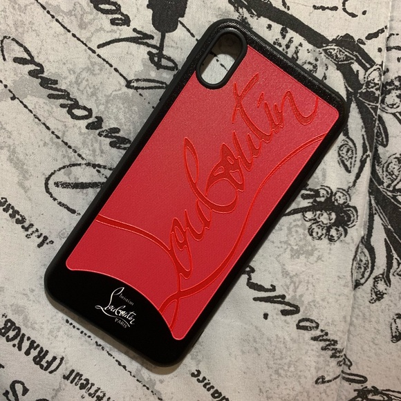 size 40 1c611 9a18c iPhone XS Max Case- Christian Louboutin